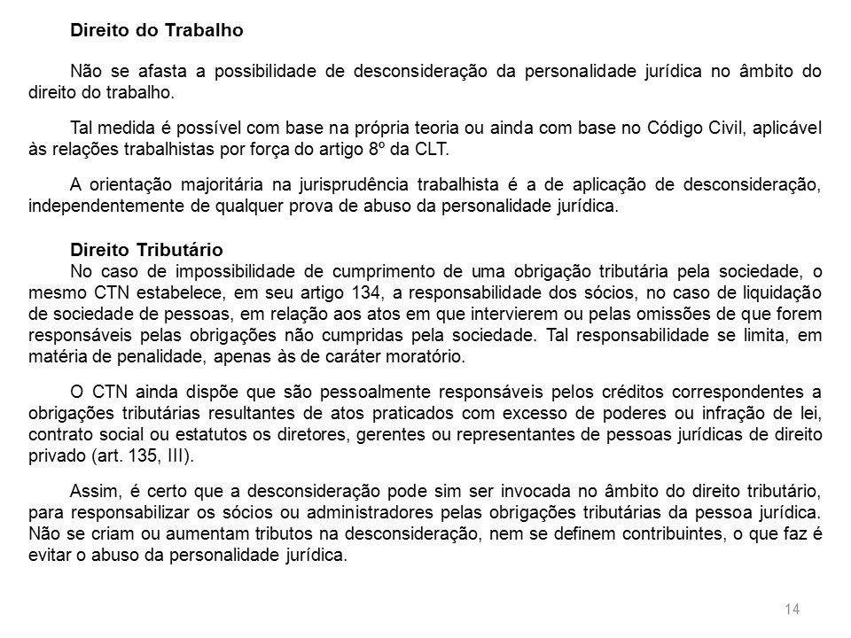 Artigo 135 clt