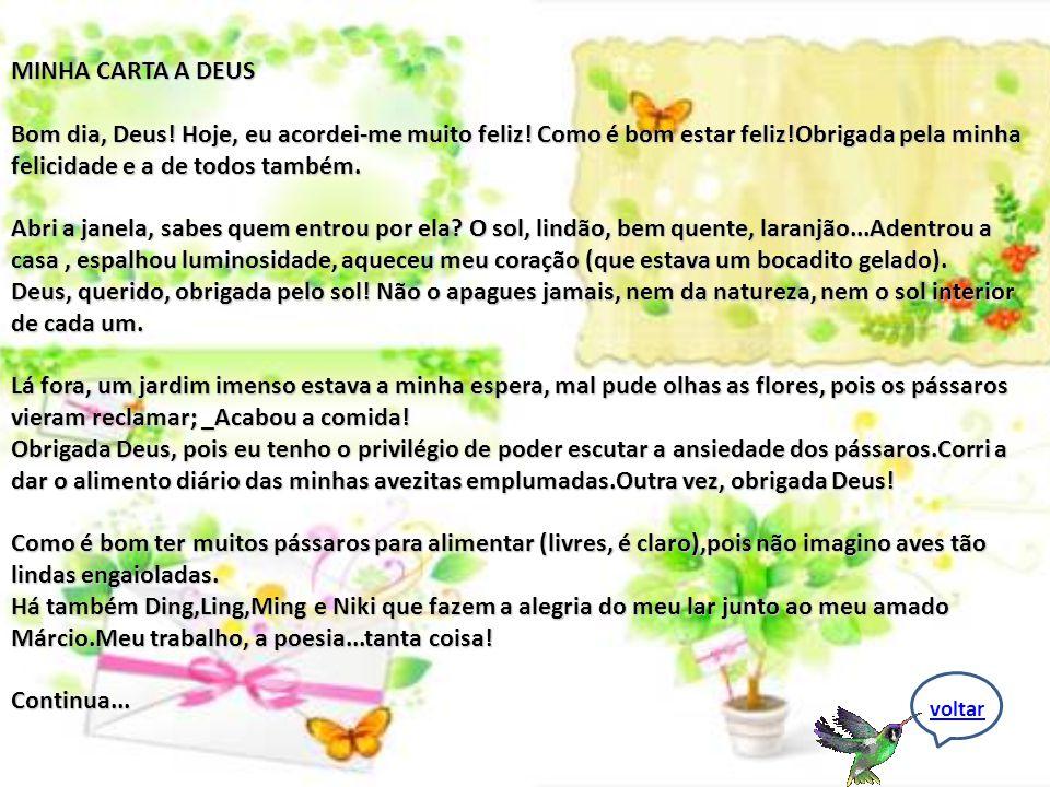 M INHA CARTA Mote Do Dia 23/05/2009 _Poesia On Line