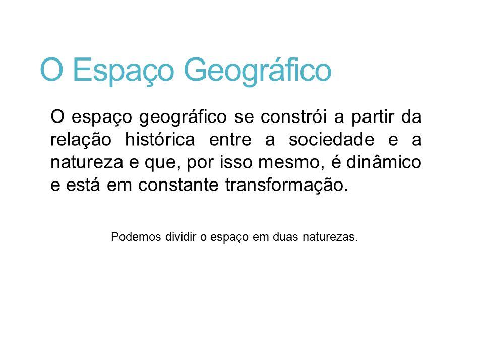 O Espaço Geográfico
