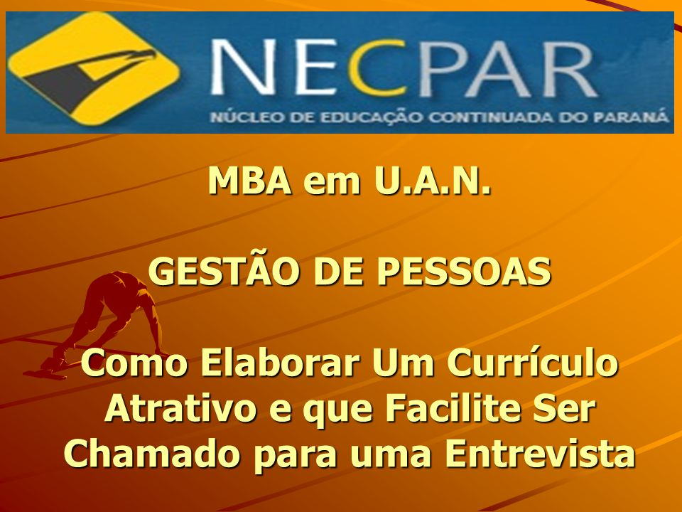 MBA em U.A.N.