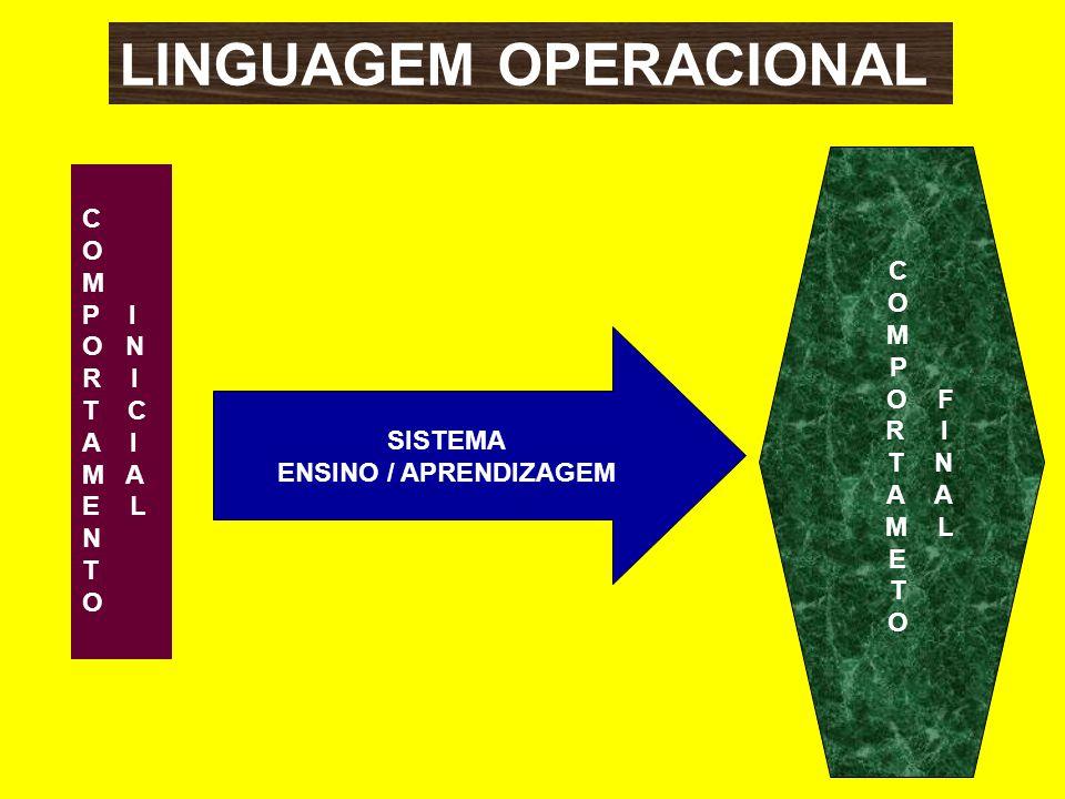 LINGUAGEM OPERACIONAL