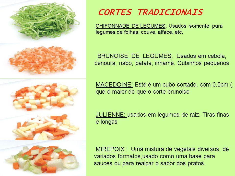 Gastronomia comer olhando pro c u ppt carregar for Cortes de verduras gastronomia pdf