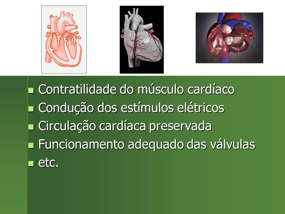 Contratilidade do músculo cardíaco