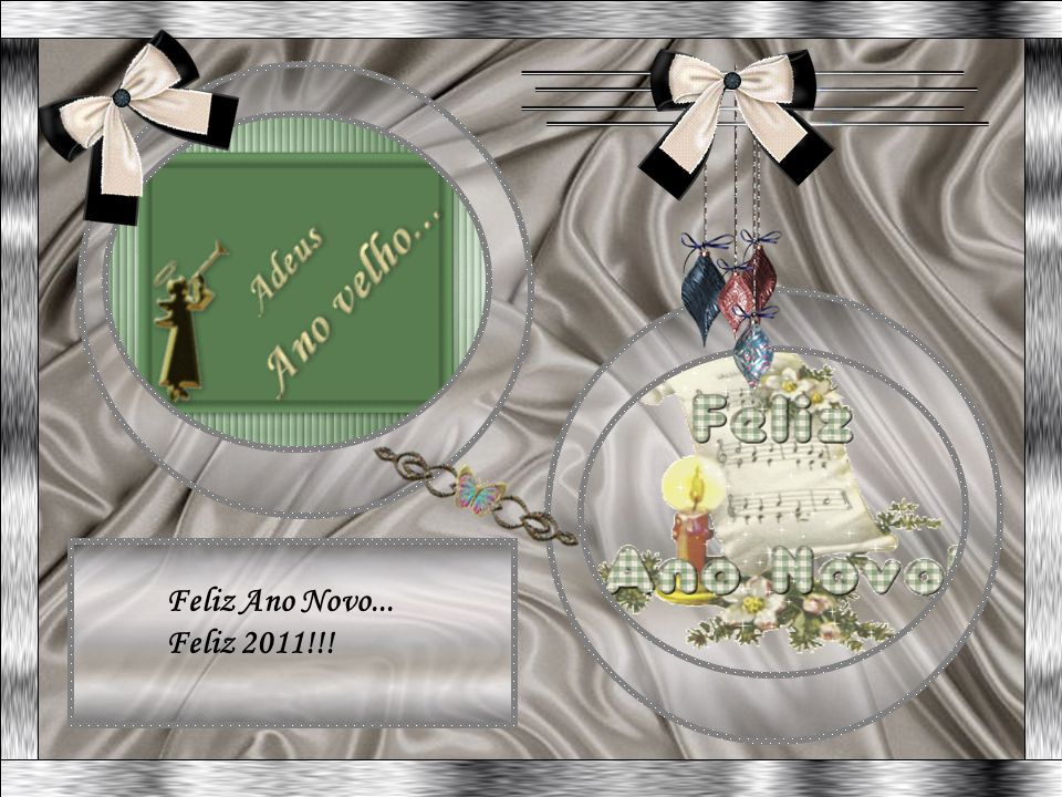 Feliz Ano Novo... Feliz 2011!!!
