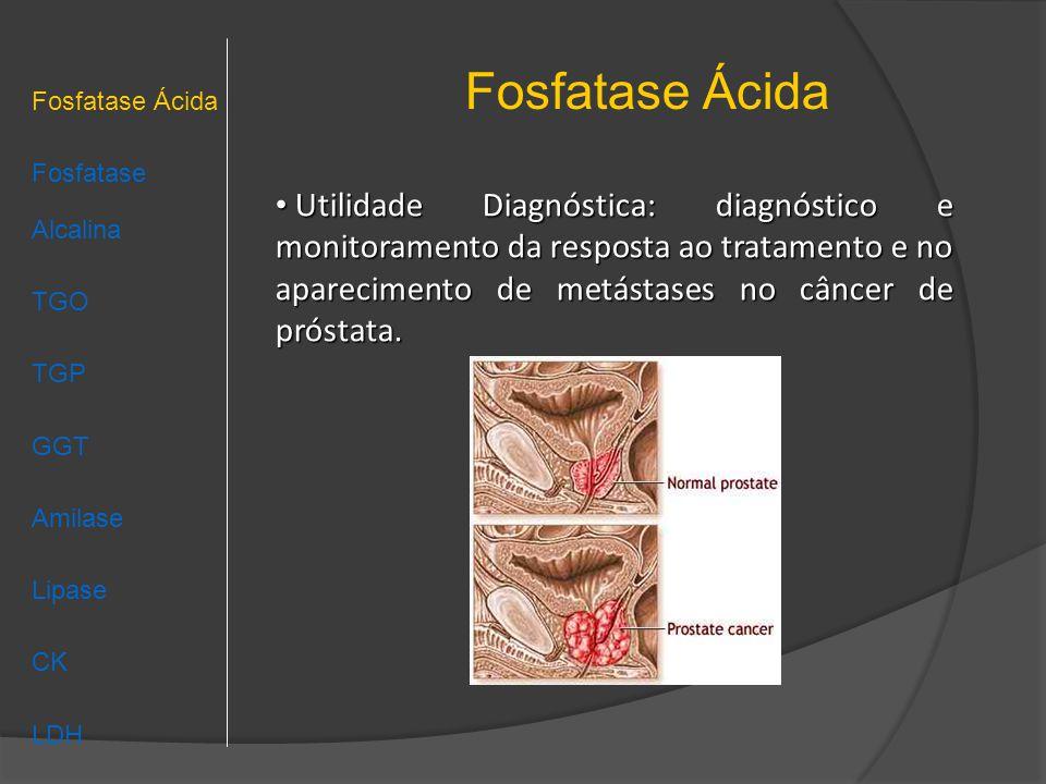 Fosfatase Ácida Fosfatase Ácida Fosfatase Alcalina TGO