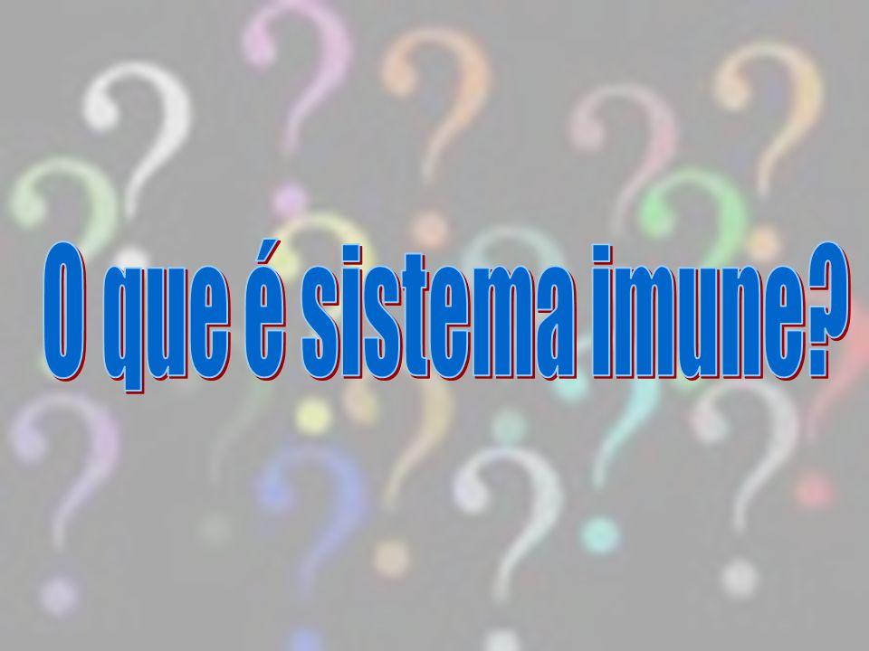 O que é sistema imune
