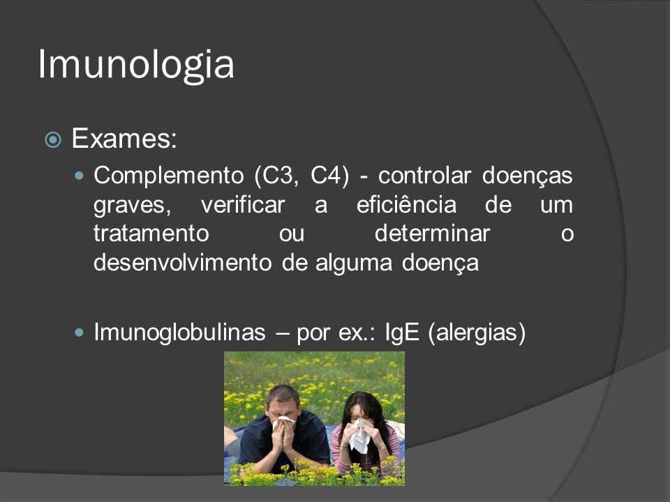 Imunologia Exames: