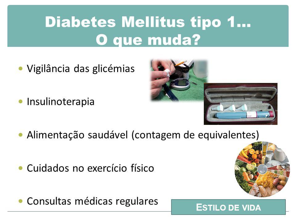 Diabetes Mellitus tipo 1… O que muda