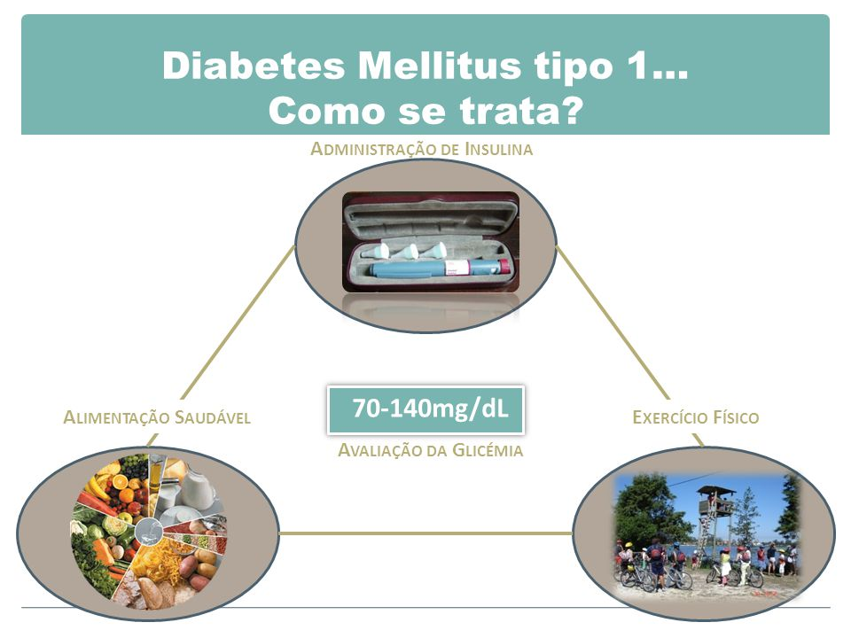 Diabetes Mellitus tipo 1… Como se trata