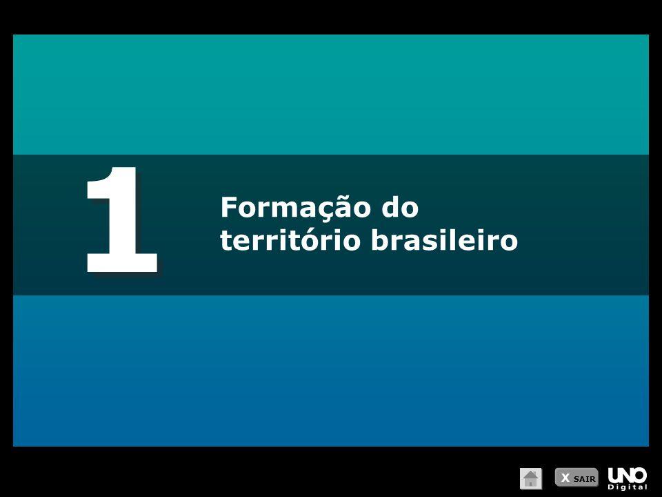 1 Formação do território brasileiro X SAIR
