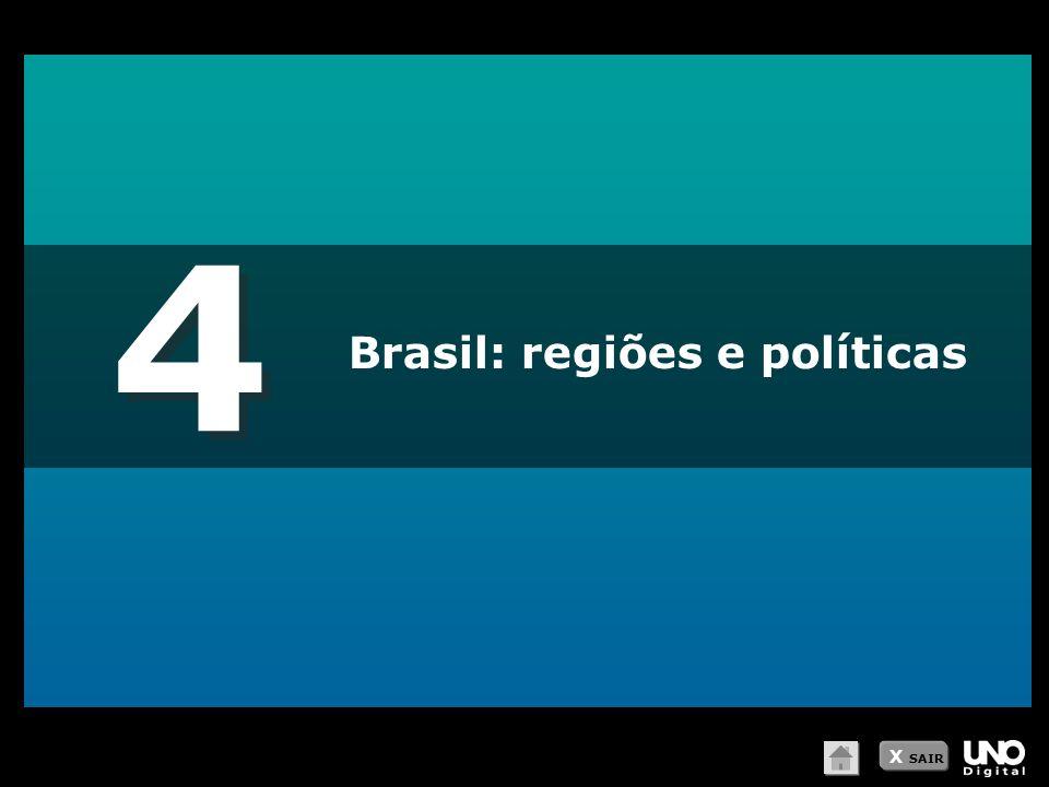 4 Brasil: regiões e políticas X SAIR