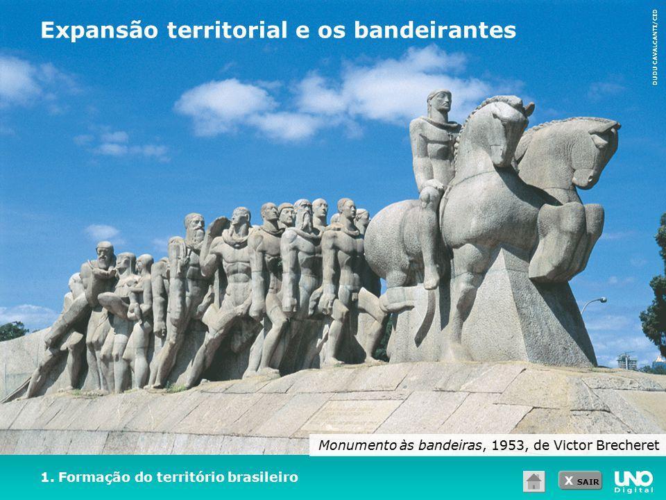 Expansão territorial e os bandeirantes