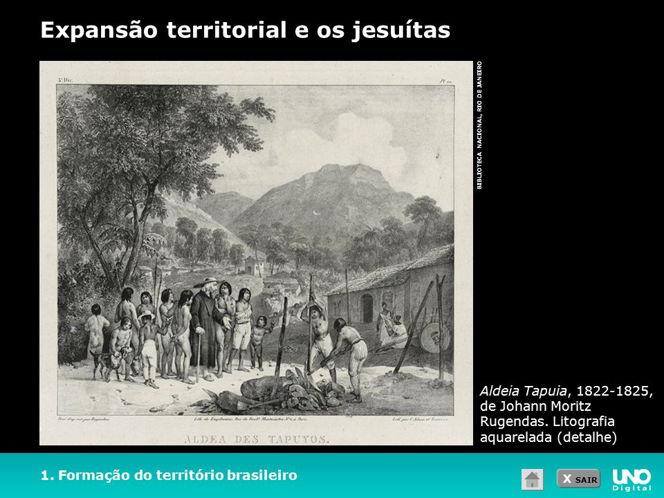Expansão territorial e os jesuítas