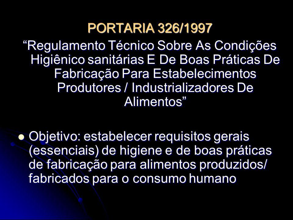 PORTARIA 326/1997
