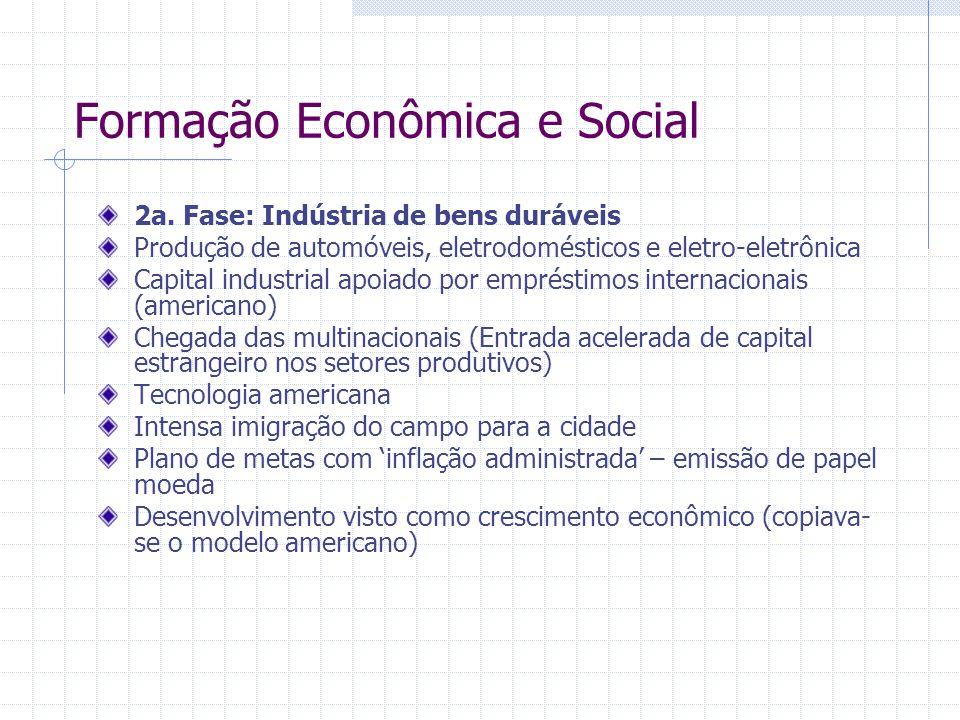 Formação Econômica e Social