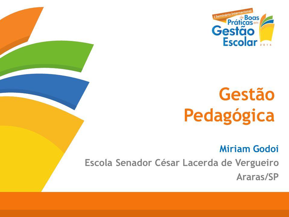 Gestão Pedagógica Miriam Godoi