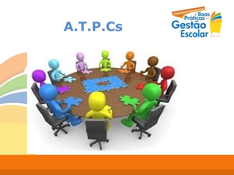 A.T.P.Cs Pauta formativa; Participação da equipe docente e gestora;