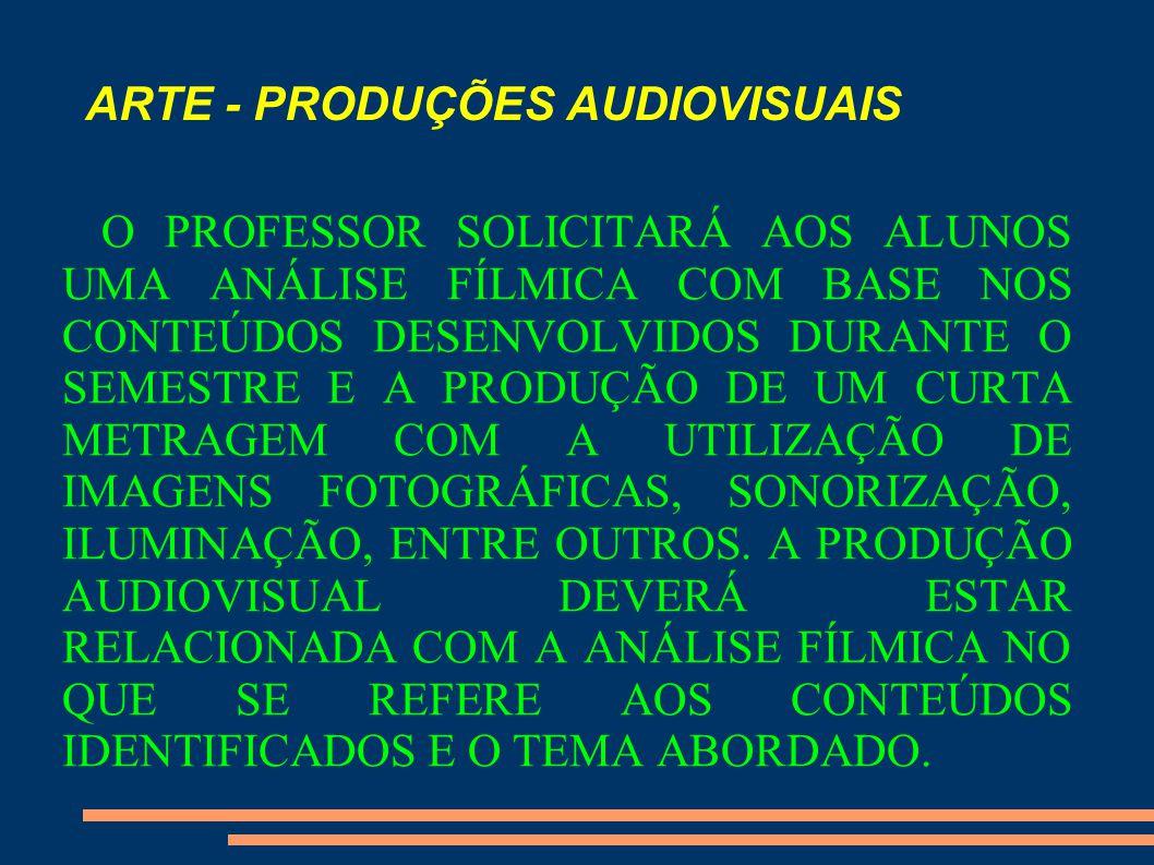 ARTE - PRODUÇÕES AUDIOVISUAIS