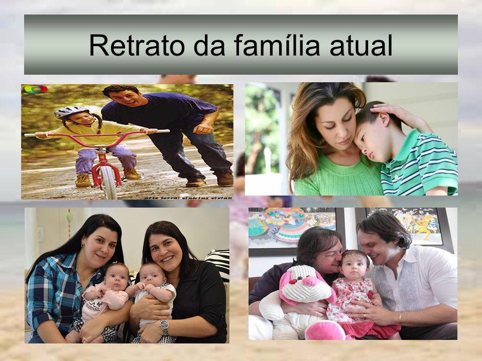 Retrato da família atual