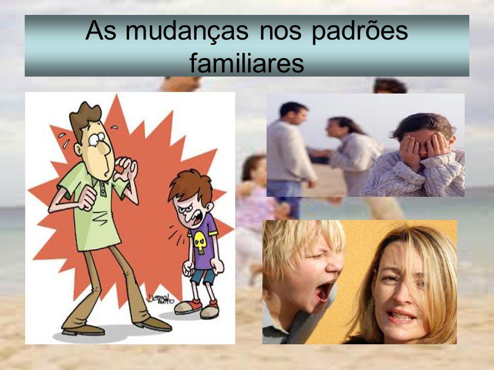 As mudanças nos padrões familiares
