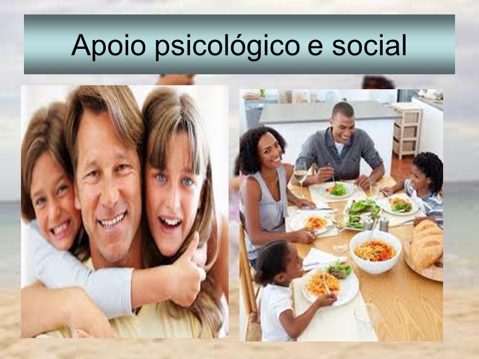 Apoio psicológico e social