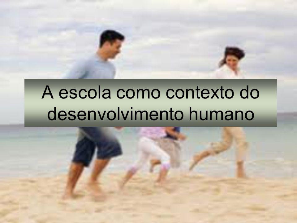 A escola como contexto do desenvolvimento humano