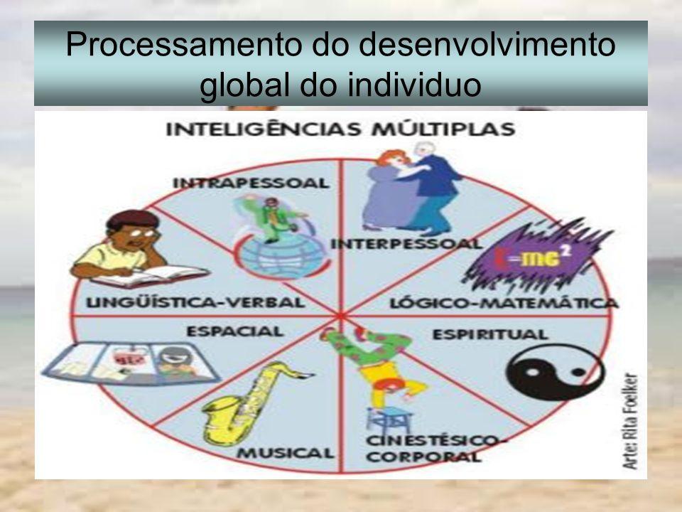 Processamento do desenvolvimento global do individuo