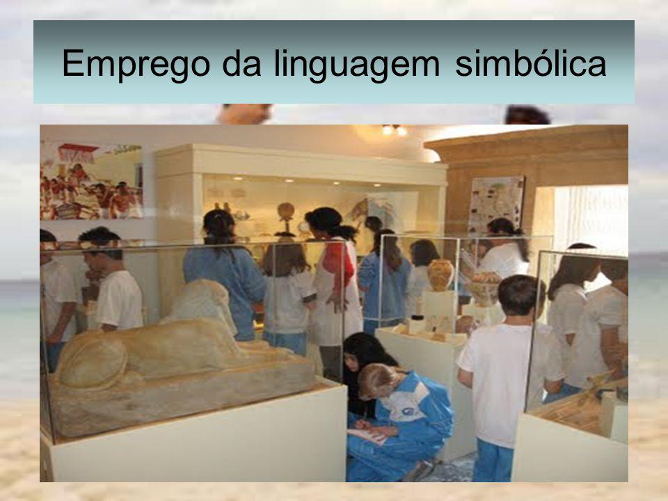 Emprego da linguagem simbólica
