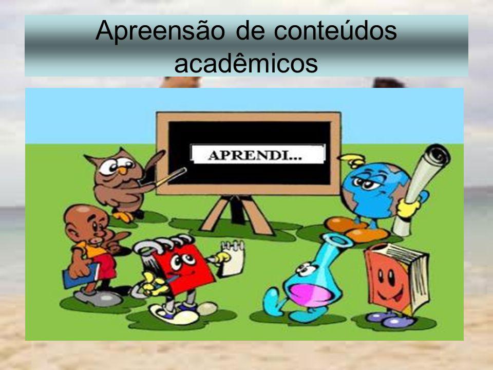 Apreensão de conteúdos acadêmicos