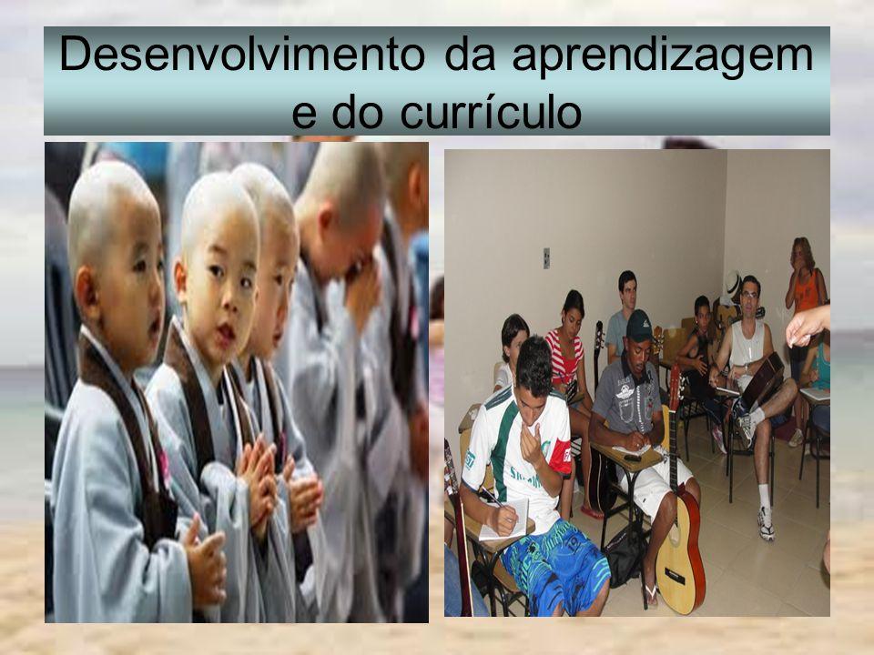 Desenvolvimento da aprendizagem e do currículo