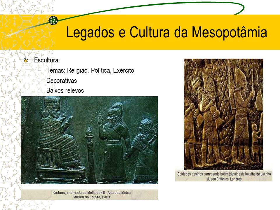 Legados e Cultura da Mesopotâmia