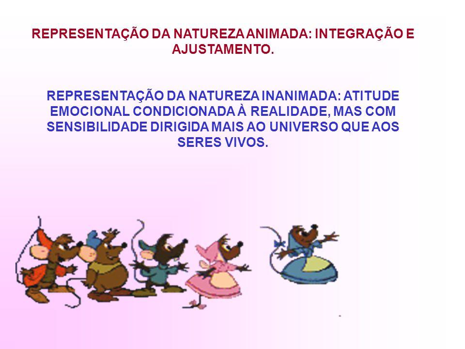 REPRESENTAÇÃO DA NATUREZA ANIMADA: INTEGRAÇÃO E AJUSTAMENTO.