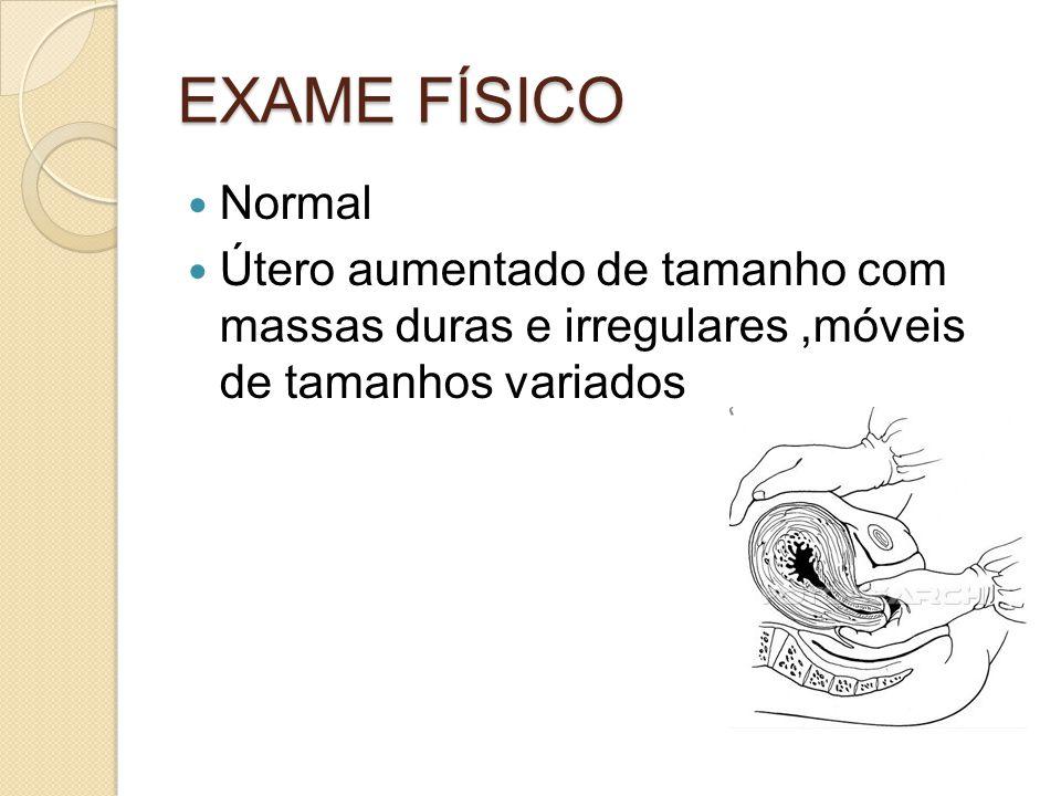 EXAME FÍSICO Normal.