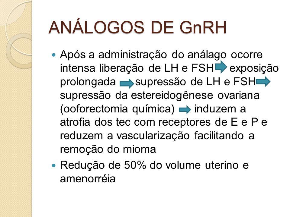 ANÁLOGOS DE GnRH