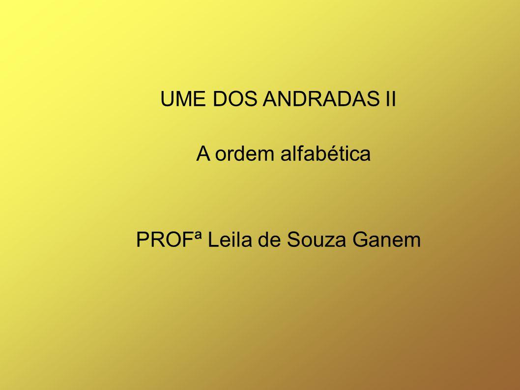 PROFª Leila de Souza Ganem