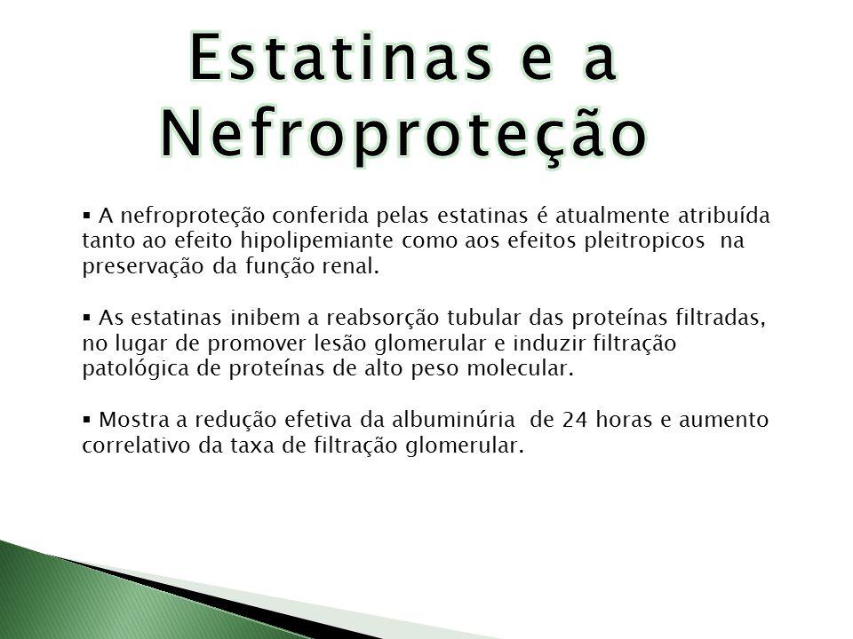 Estatinas e a Nefroproteção