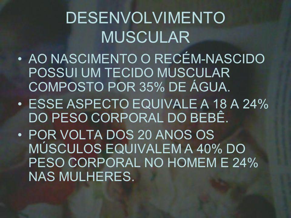 DESENVOLVIMENTO MUSCULAR