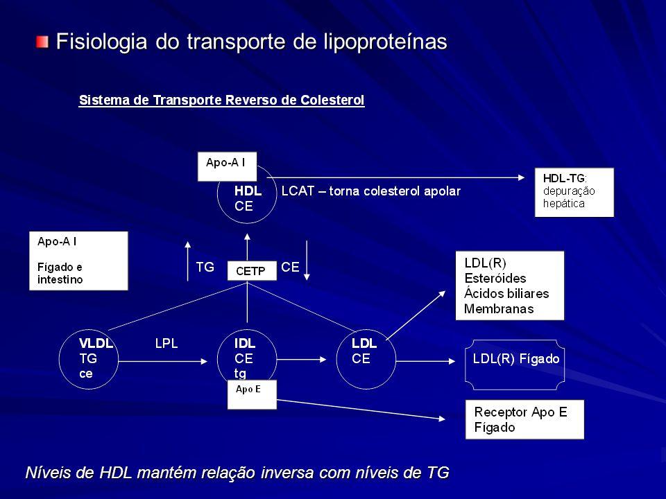 Fisiologia do transporte de lipoproteínas
