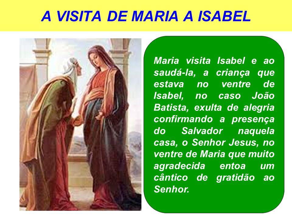 A VISITA DE MARIA A ISABEL