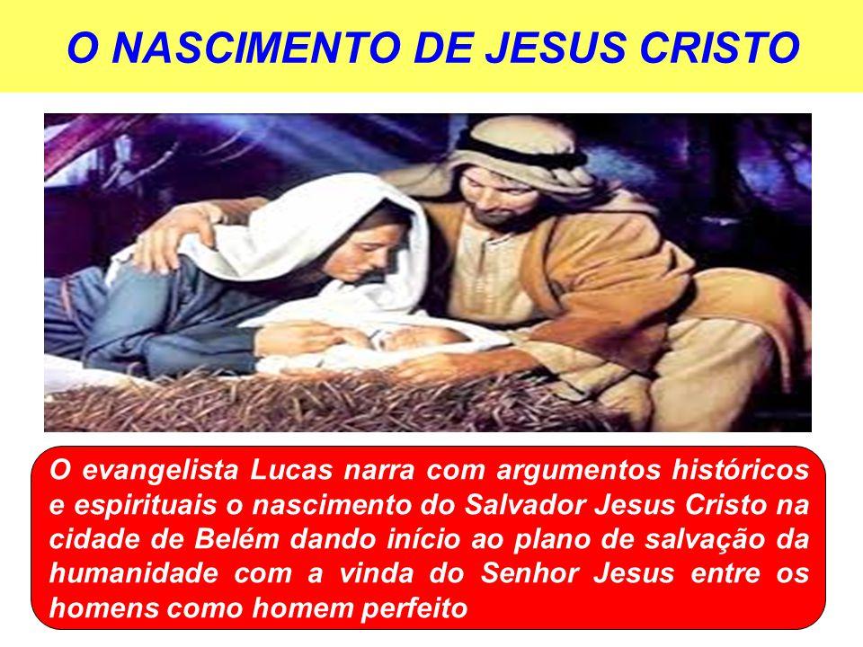 O NASCIMENTO DE JESUS CRISTO