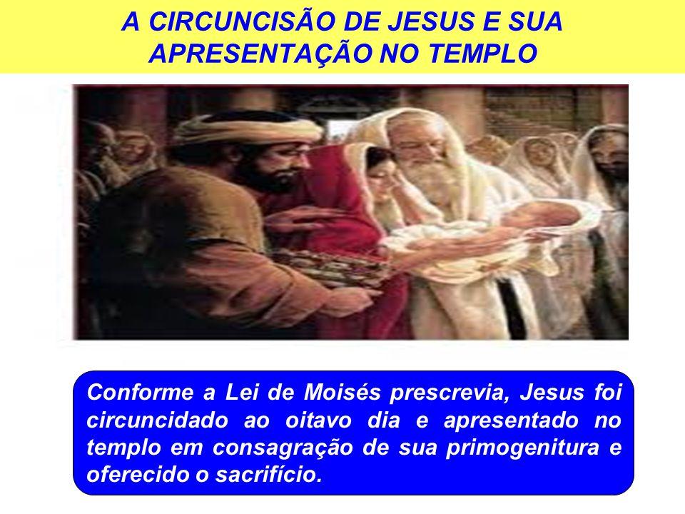 A CIRCUNCISÃO DE JESUS E SUA APRESENTAÇÃO NO TEMPLO