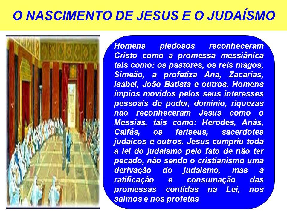 O NASCIMENTO DE JESUS E O JUDAÍSMO