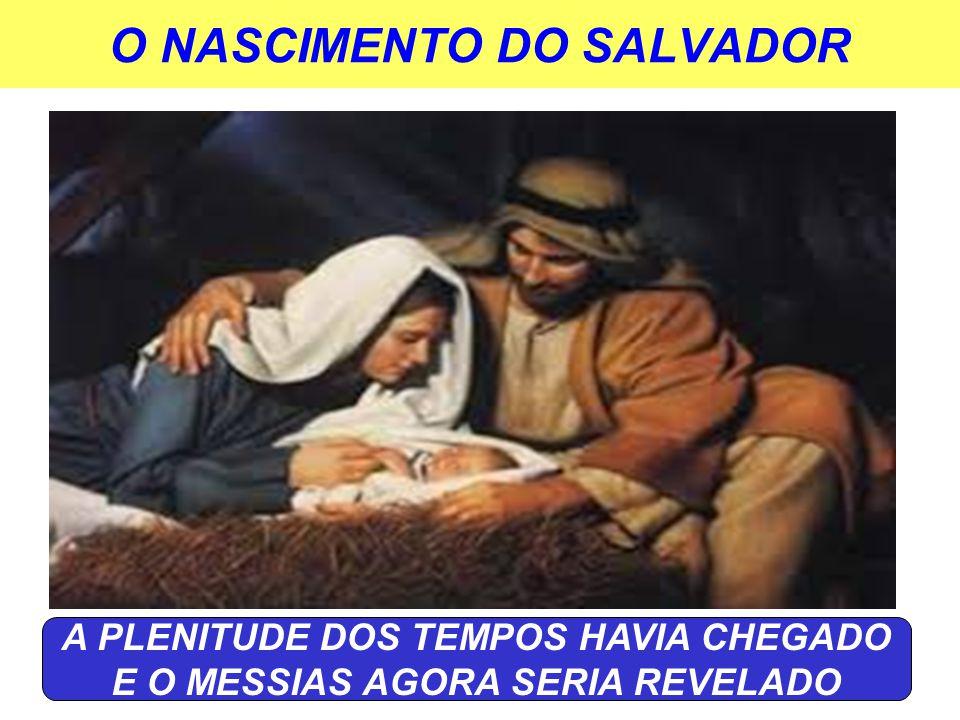 O NASCIMENTO DO SALVADOR