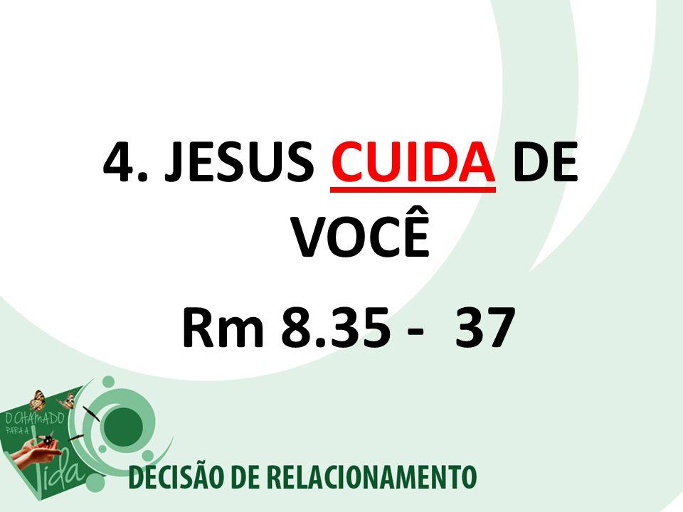 JESUS CUIDA DE VOCÊ Rm 8.35 - 37