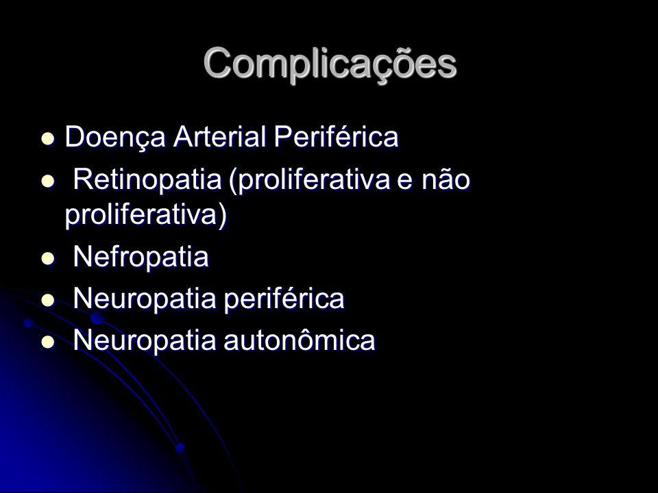 Complicações Doença Arterial Periférica