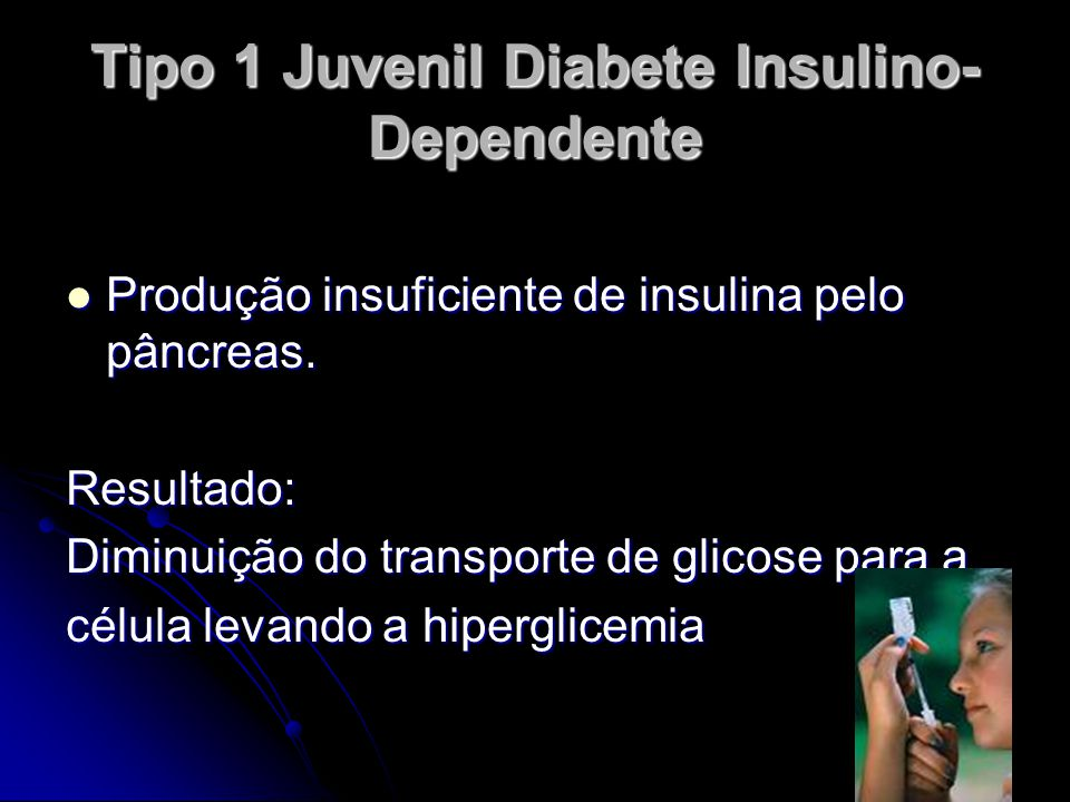 Tipo 1 Juvenil Diabete Insulino-Dependente
