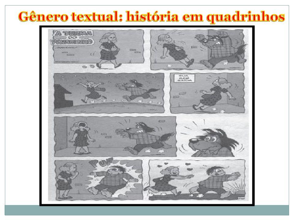 Gênero textual: história em quadrinhos