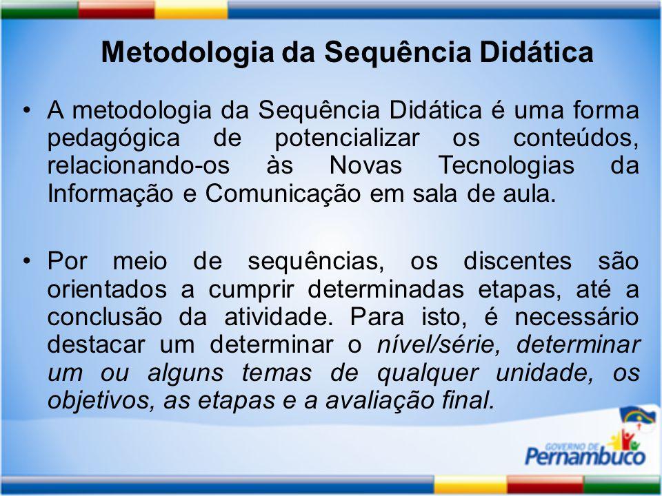 Metodologia da Sequência Didática
