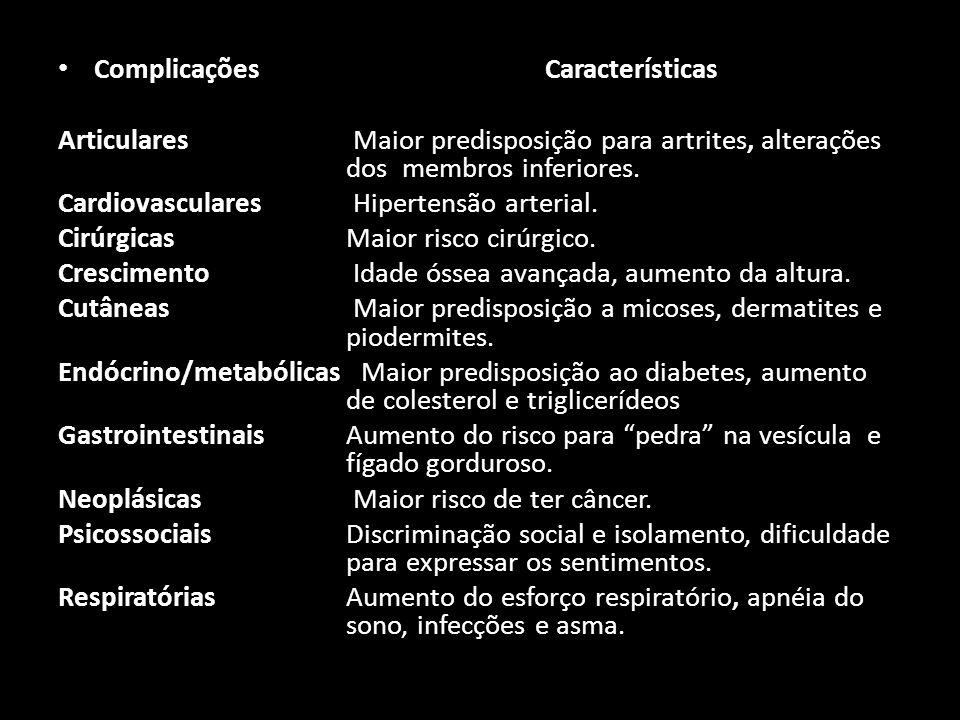 Complicações Características