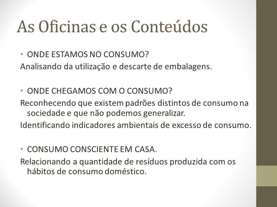 Oficinas sobre o consumo consciente de embalagens ppt carregar - Oficinas de consumo ...